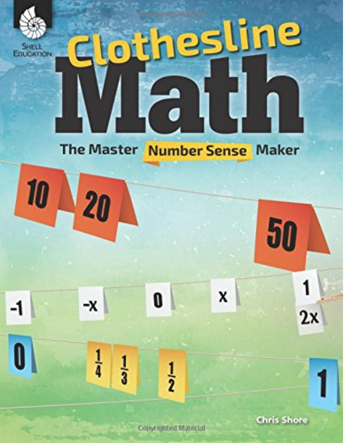 Teacher Created Materials (Clothesline Math Book)